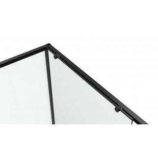 Душевая кабина Eger A LANY 80х120х195 см, без поддона, 599-550/1 Black