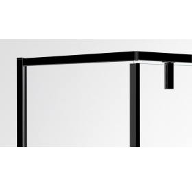 Душевая кабинa EGER A LÁNY 90х90х195,стекло прозрачное, 599-552/1 Black
