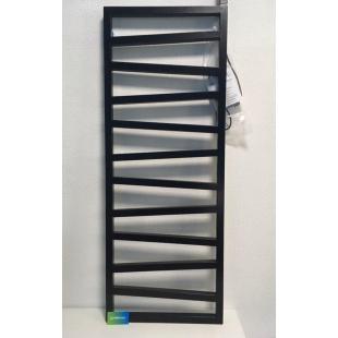 Полотенцесушитель электрический Terma ZIGZAG 1310x500 Black mat, с ТЭНом, WGZIG131050