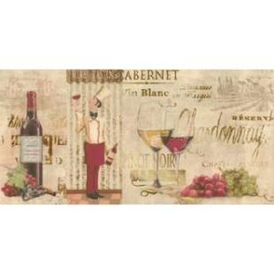 Декор Opoczno Old Provence inserto wine 29,7×60