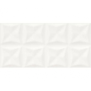 Плитка Opoczno Water Sparkles Origami white glossy structure 29,7×60