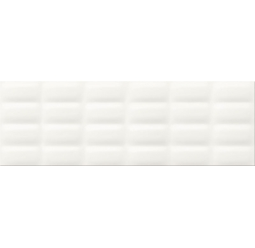 Плитка Opoczno Vivid colours 25x75 white glossy pillow (8031)