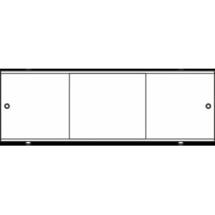 Экран под ванну лицевой ″Метакам премиум А ″ (белый) 148 см / 56-60 см