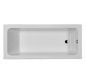Акриловая прямоугольная ванна с ножками 170х75 см, KOLO MODO боковой слив, XWP1170000