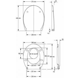 Сиденье семейное для унитаза Kolo NOVA PRO, Duroplast, Soft-close, K90118000