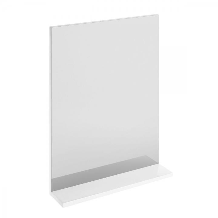 Зеркало с полкой MELAR белое S614-006