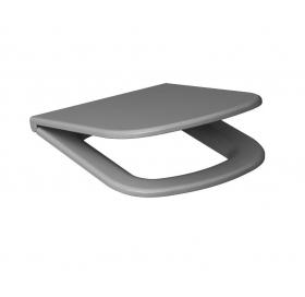 Унитаз-компакт Cersanit  COLOUR Clean ON  3/5 л, + сиденье серое Duroplast, soft-close