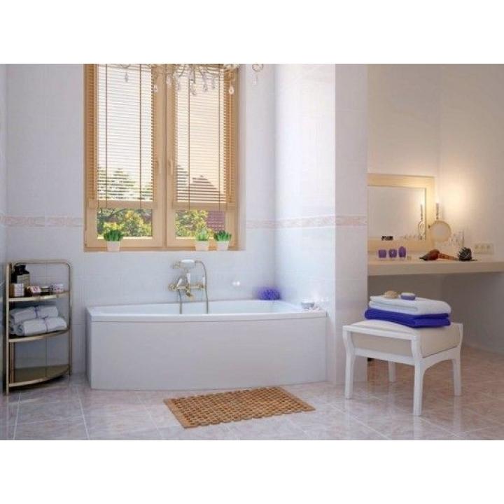 Ванна Cersanit LORENA 150 x 90 асимметричная, правая S301-083
