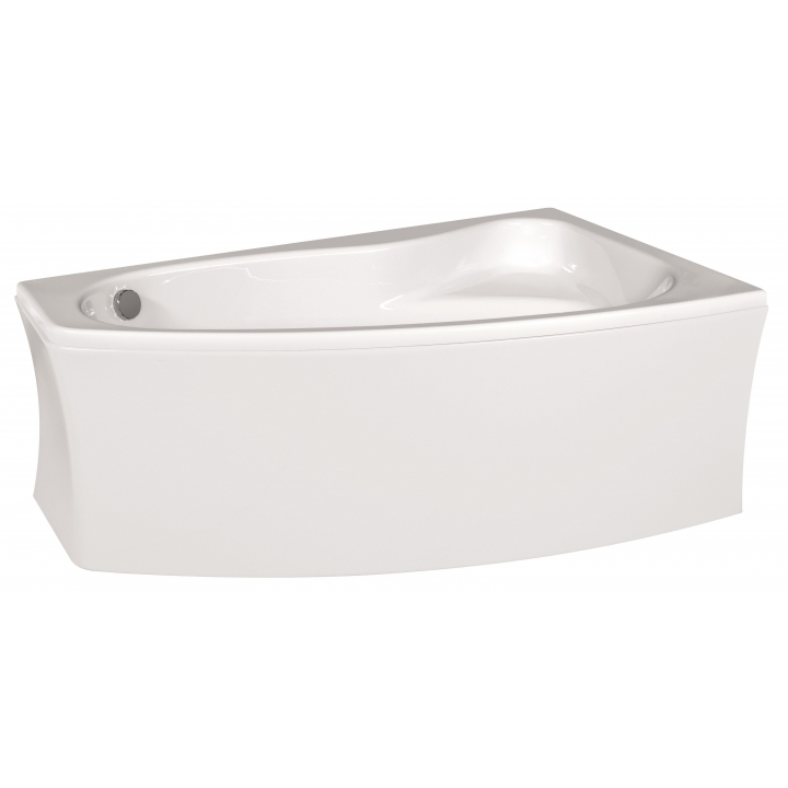 Ванна Cersanit SICILIA 140 x 100 асимметричная, правая S301-094