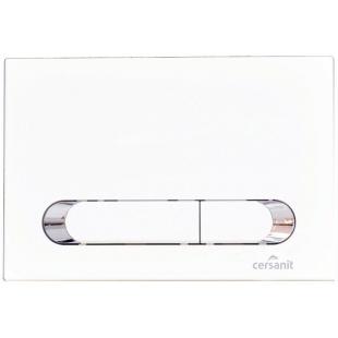 Кнопка сливная Cersanit HI-TEC TEAR белая