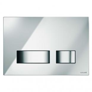 Кнопка Cersanit MOVI для инст. системы LINK, HI-TECH, хромовая блестящая, S97-026