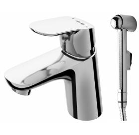 Смеситель для раковины с гигиеническим душем АМ.РМ Like F8003000