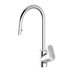 Смеситель для кухни с выдвижным душем AM.PM Like F8012000