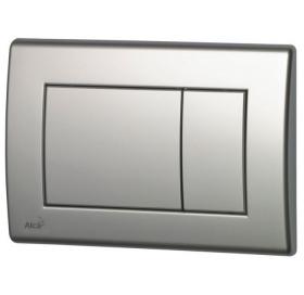 Кнопка управления хром–матовая 247x165 мм (M272)