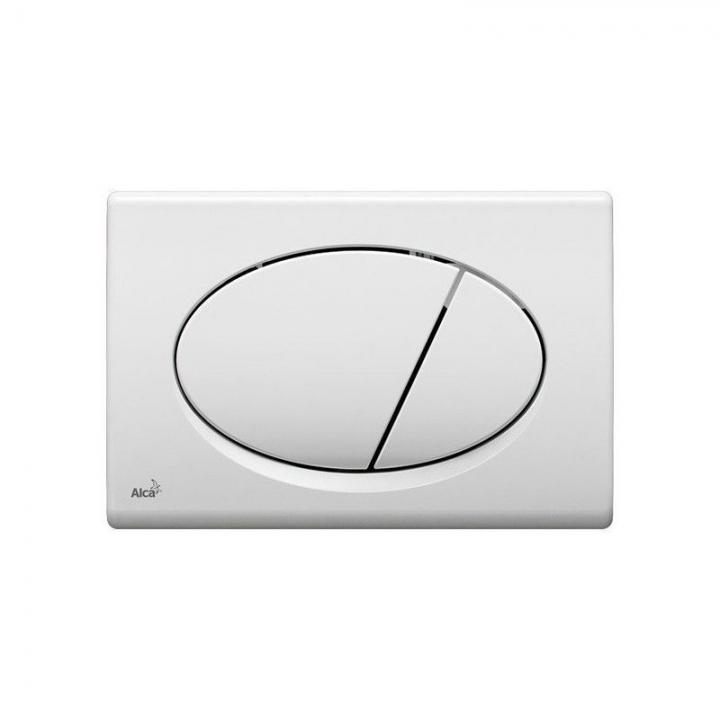 Инсталяционная система для подвесного унитаза AlcaPlast A101/1200 + клавиша M70 белая