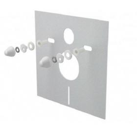 Звукоизоляционная плита для унитаза/биде ALCAPLAST