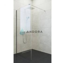 Стенка для душа Andora Summer WALK-IN 800*2000 мм, прозрачная, безопасное стекло ANWC80200