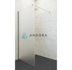 Стенка для душа Andora Summer WALK-IN 1000*2000 мм, матовая, безопасное стекло ANWS100200