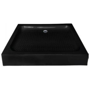 Душевой поддон Asignatura Tinto 90х90 черный 49833007