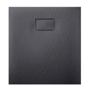 Душевой поддон Asignatura Tinto 90х90 черный матовый 49837002