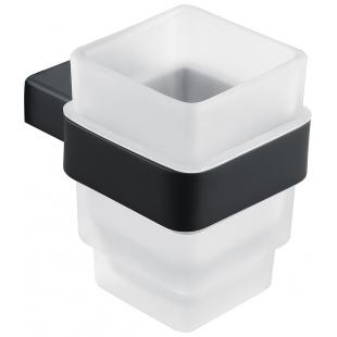 Стакан для зубных щеток Asignatura Unique 85601802 черный матовый