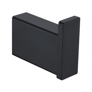 Крючок одинарный Asignatura Unique черный матовый 85603802