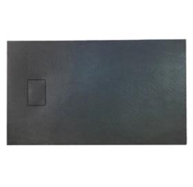 Душевой поддон Asignatura Vik 120х80 черный матовый 59837002