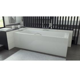 Стальная хромированная ручка для акриловой ванны BESCO PMD PIRAMIDA INFINITI, RBPPinf