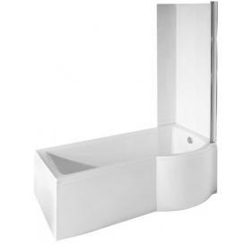 Шторка одно-элементная Besco для ванн Inspiro 76x150 хром, 00000013420