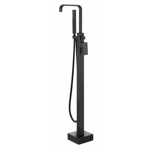 Cмеситель для ванны отдельностоящий Besco MODERN І, черный матовый
