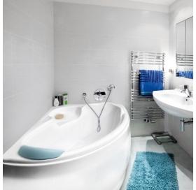 Ванна акриловая BESCO WENUS FINEZJA NOVA 155х95 левосторонняя 00000005144