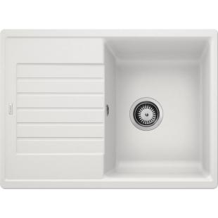 Кухонная мойка Blanco ZIA 45 S Compact SILGRANIT® PuraDur® белый, 524725