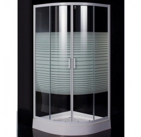 Душевая кабина Eger TISZA(AMUR) 90*90*200, мелкий поддон стекло Frizek, 599-021-..