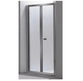 Душевая дверь EGER Bifold 90 (599-163-90(h)), хром профиль, стекло,складывающиеся