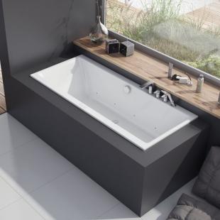 Ванна акриловая Excellent Pryzmat Slim 170 WAEX.PRY17WHS-BN