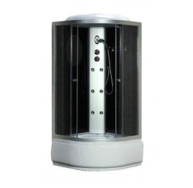 Гидробокс FABIO 100x100 без электроники, профиль сатин, TMS-885/40