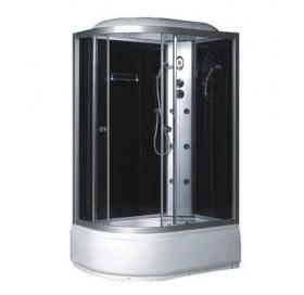 Гидробокс FABIO 120x80 правый, профиль сатин, TMS-886/40R