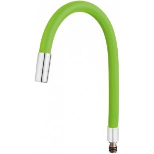 Гибкий излив для кухонного смесителя FERRO ELASTICO (W100G-B) зелёный