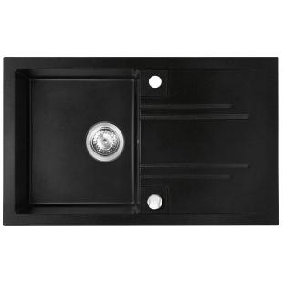 Кухонная мойка FERRO MEZZO II (DRGM48/78BA) графит