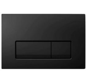 Кнопка смыва Geberit  Delta 51,пластик, черный RAL 9005 (115.105.DW.1)