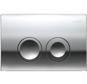 Кнопка смыва Geberit DELTA 21, пластик, хром глянцевый (115.125.21.1)