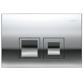 Кнопка смыва Geberit DELTA 50, пластик, хром глянцевая (115.135.21.1)