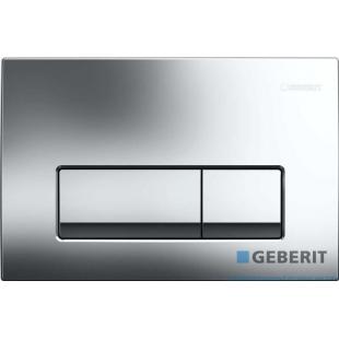 Кнопка смыва Geberit  Delta 51,пластик, хром глянец (115.105.21.1)