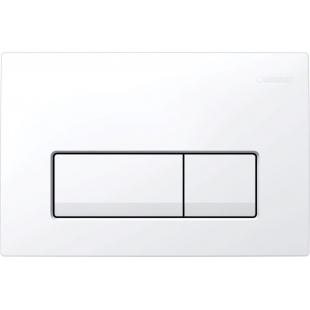 Кнопка смыва Geberit  Delta 51,пластик, белый (115.105.11.1)