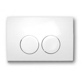 Кнопка смыва Geberit DELTA 21, пластик, белый (115.125.11.1)