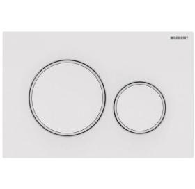 Кнопка смыва Geberit Sigma20 пластик, 115.882.11.1 белый
