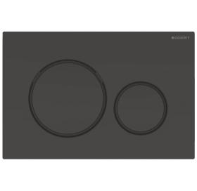 Кнопка смыва Geberit Sigma20 с двойным смывом 115.882.DW.1 черный