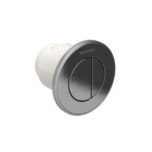 Дистанционная кнопка смыва Geberit Type 01, Двойной Смыв, Хром Глянцевый