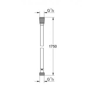 Душевой шланг GROHE Silverflex, 28388000