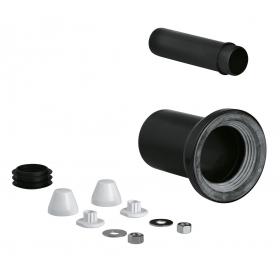 Комплект впускной и смывной гарнитуры для унитаза Grohe 37311K00, черный